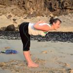 yogaaufsylt_morgens am Strand